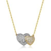 Goldstore 14 Ayar Altın Kalp Kolye Gp39051