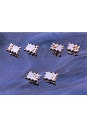 Enstrümanlı Kol Düğmesi - 3 Model