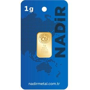nadir gold 24 ayar külçe gram altın 1 gr.