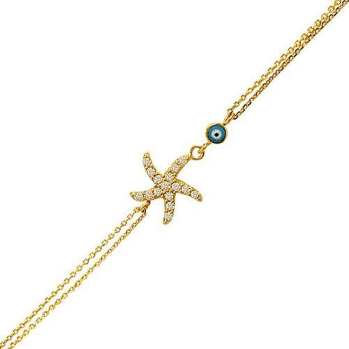 Bilezikhane Deniz Yıldızı Bileklik 2,55 Gram 14 Ayar Altın