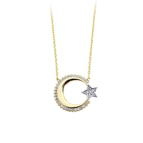 Ferreguer Diamond Kolye 14 Ayar Altın AT200117