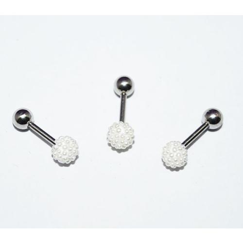 Cadının Dükkanı 316L Cerrahi Çelik İnci Toplu Kulak Piercing