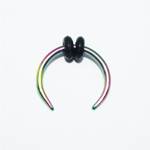 Cadının Dükkanı 316L Cerrahi Çelik Neon Hilal Kulak Piercing