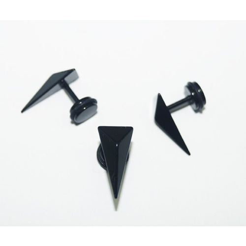 Cadının Dükkanı 316L Cerrahi Çelik Piramit Kulak Piercing