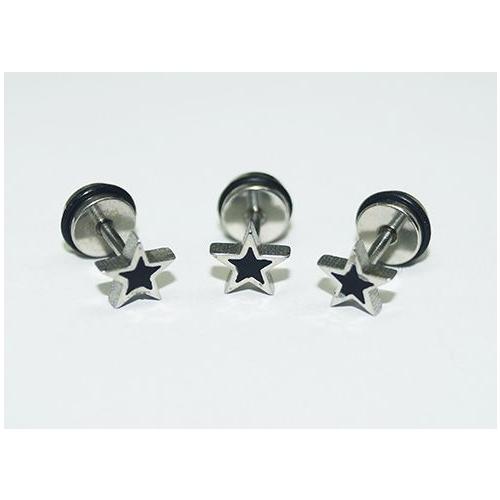 Cadının Dükkanı 316L Cerrahi Çelik Yıldız Kulak Piercing