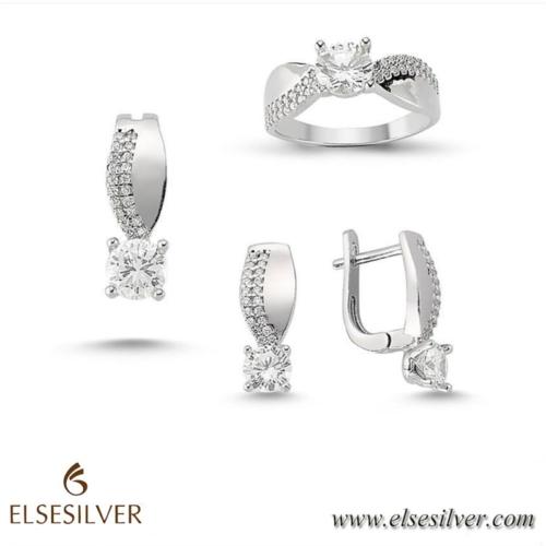 Else Silver Chic Gümüş Set