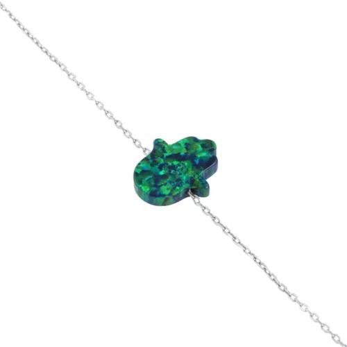 Else Silver Opal Fatmanın Eli Bileklik