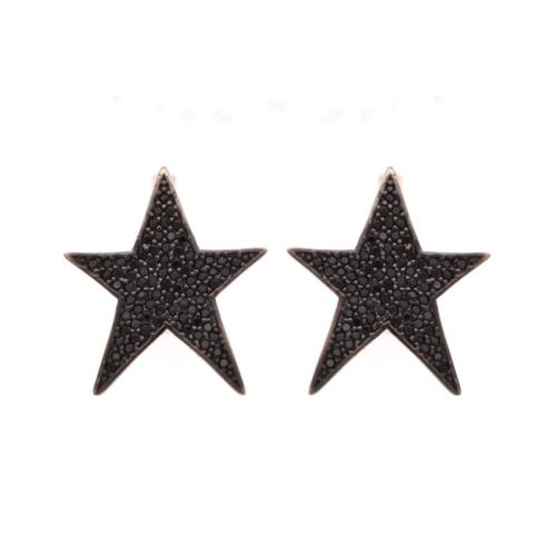 Else Silver Yıldız Küpe