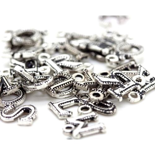 Tesbihci Dede Tesbih Püskül Ucu Harfleri 925 Ayar Gümüş