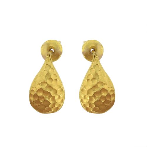 Tuğrul Kuyumculuk Handmade Hammered Earrings