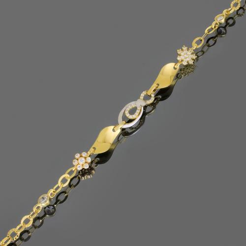 Tuğrul Kuyumculuk Kartanesi Figürlü Altın Bileklik