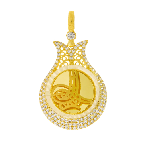 Tuğrul Kuyumculuk Altın Osmanlı Tuğrası Kolye Ucu