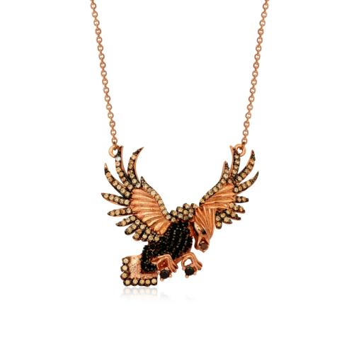 VAOOV 925 Ayar Gümüş Ebabil Kuşu Kolye