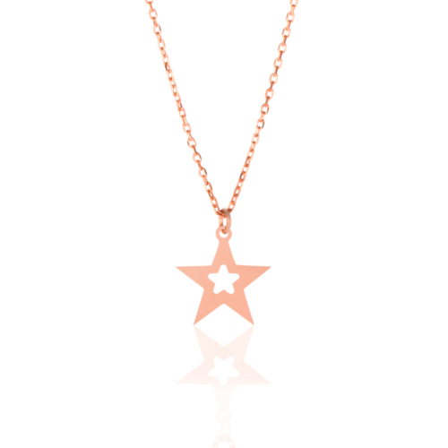 Azuris Silver Yıldız Kolye