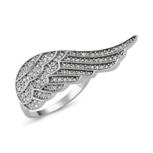 Altınsepeti Gümüş Melek Kanatlı Yüzük G109yz