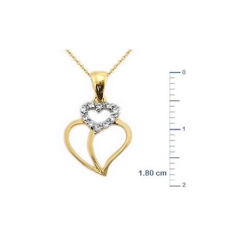 Goldstore 14 Ayar Altın Kalp Kolye Gp9992