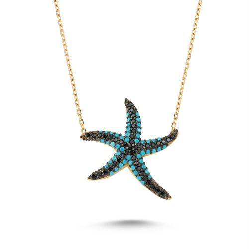 Nevinci Deniz Yıldızı Kolye