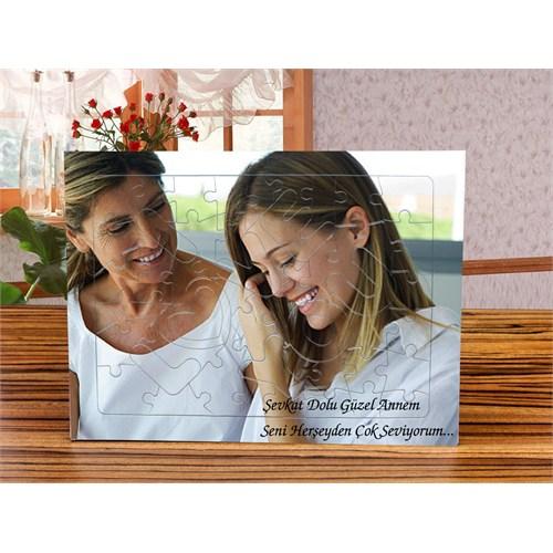 7/24 Hediye Annenize Özel I Love You Parçalı Puzzle