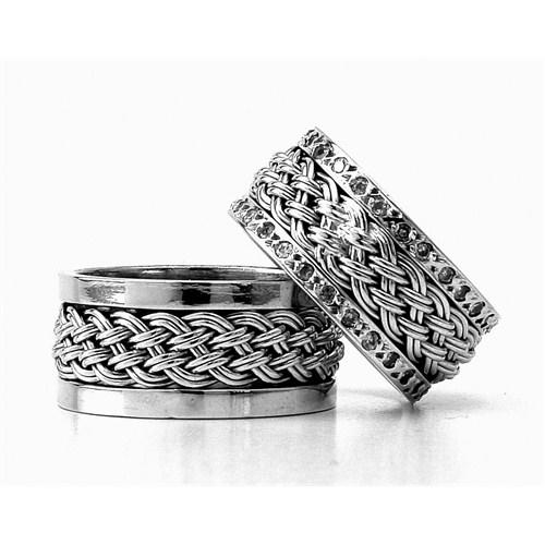 Berk Kuyumculuk Gümüş Alyans 5790(çift)