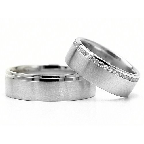 Berk Kuyumculuk Gümüş Alyans 5809(çift)
