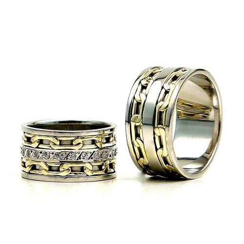 Berk Kuyumculuk Gümüş Alyans 5836(çift)