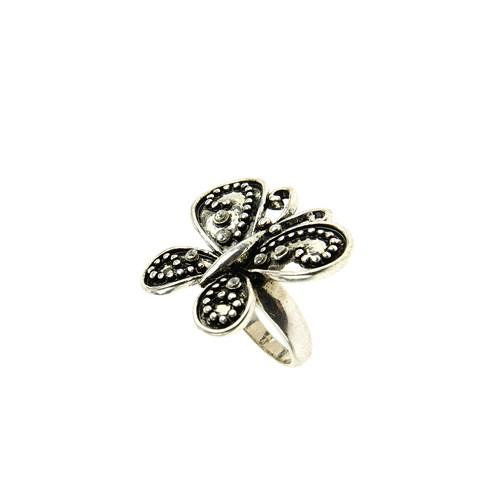 Chiccy Gümüş Rengi, Kelebek Yüzük