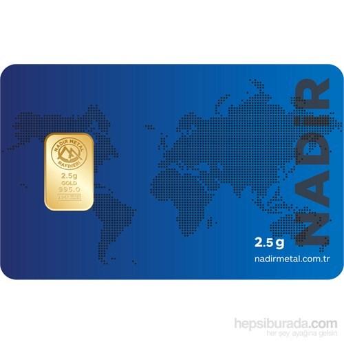 Ziynet 24 Ayar Külçe Gram Altın 2,5 Gr.