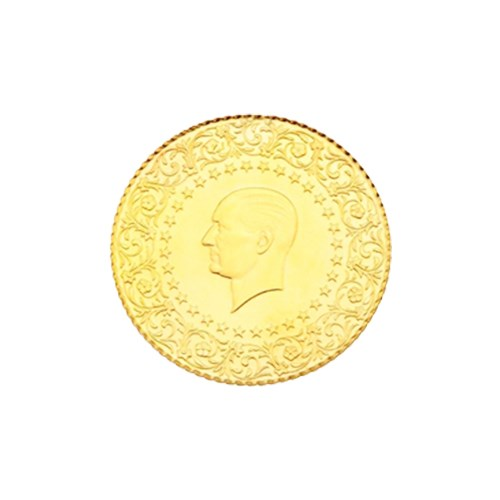 2,5 Ziynet Altın (Gremse) Yeni Tarihli (Kulplu)
