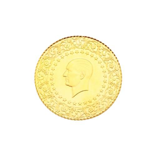 2,5 Ziynet Altın (Gremse) Yeni Tarihli (Kulpsuz)