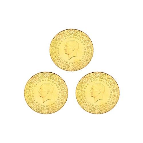 3'lü Yarım Altın Paketi 2017 Yeni Tarihli (Kulpsuz)