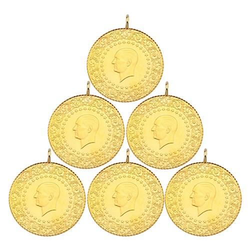 6´lı Yarım Altın Paketi Eski Tarihli (Kulplu)