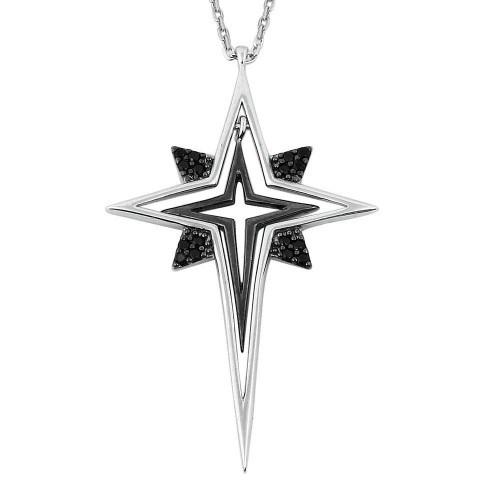 De Hari's Kutup Yıldızı Gümüş Kolye