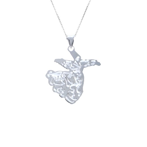 Dhamany Semazen Gümüş Kolye
