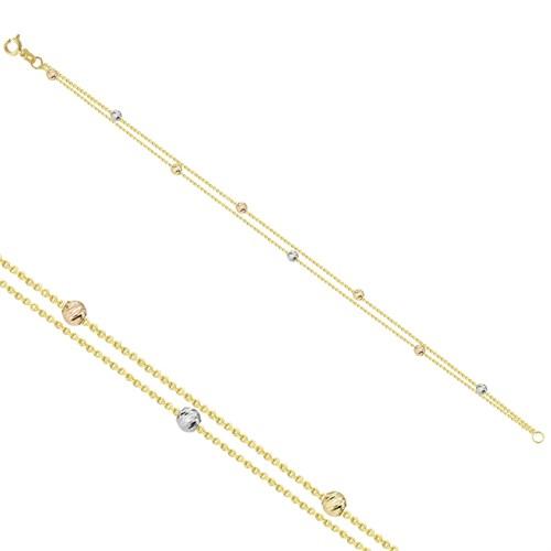 Melis Gold Altın Toplu Bileklik Zb000168