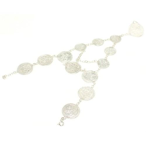 Nusret Takı 925 Ayar Gümüş Paralı Model Yüzüklü Şahmeran