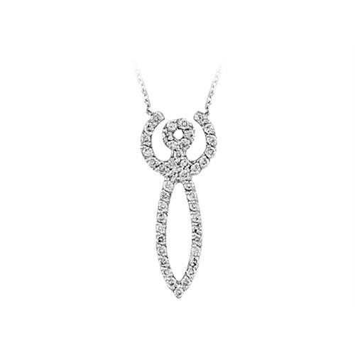 Sirius Ay Tanrıçası Artemis Pırlanta Kolye