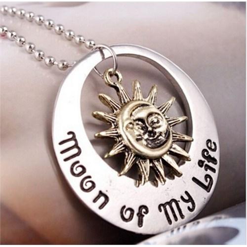 Köstebek Moon Of My Life Kolye