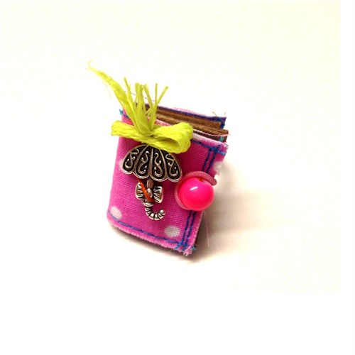 Betico Fashion Renkli Defter Yüzük