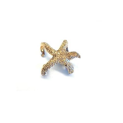 Betico Fashion Altın Denizyıldızı Yüzük