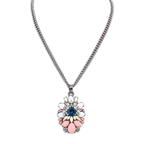 Modalina Çok Renkli Mücevher