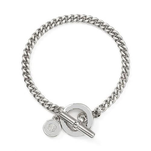 Modakedi Gümüş Tasarım Zincir Kadın Bileklik