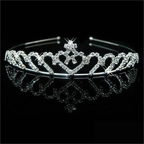Modakedi Prenses Model Kristal Gelin Kına Tacı