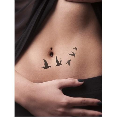 One Spray Tattoo Göçmen Kuşlar