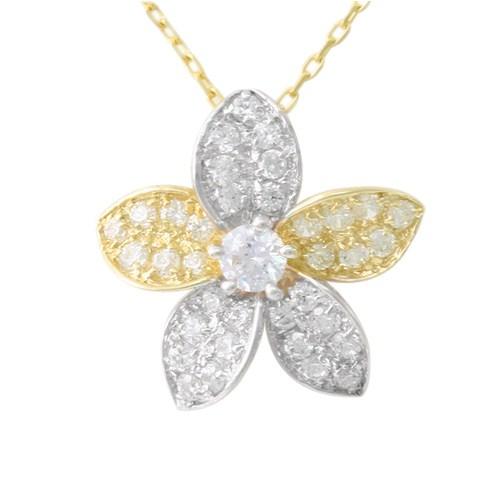 AltınSepeti Çiçek Motifli Altın Kolye AS78KL