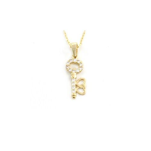 AltınSepeti Altın Anahtar Kolye AS84KL