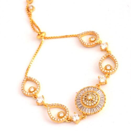 Gold And Stons Bayan Bileklik