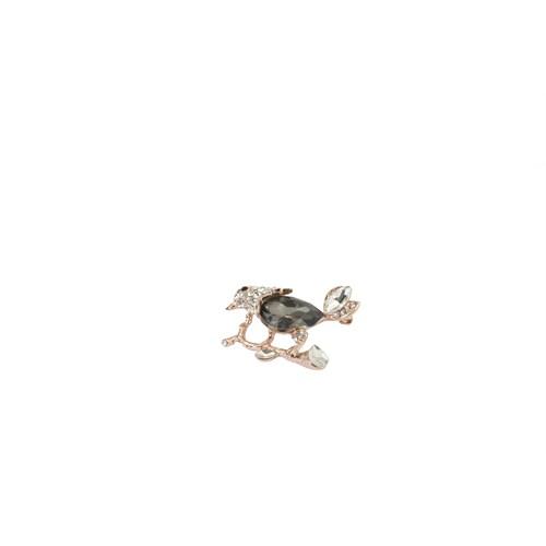 Eos Kristal Taşlı Kaplumbağa Broş