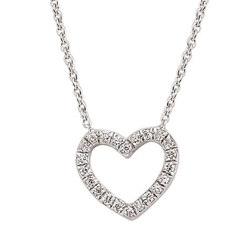 AltınSepeti Gümüş Kalp Kolye G115KL