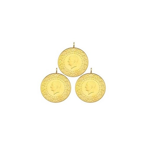 3'lü Çeyrek Altın Paketi Eski Tarihli (Kulplu)