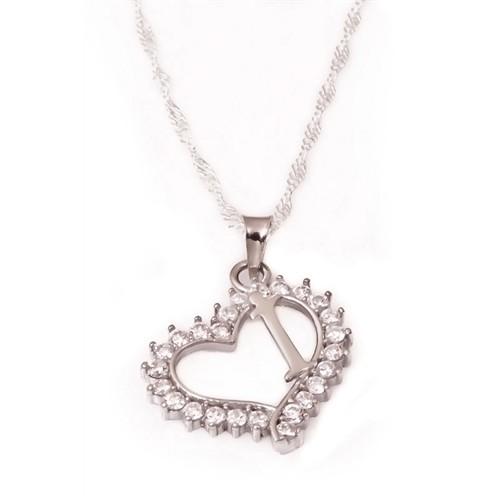Olivin Accesories İ Harfi Gümüş Kolye 432371